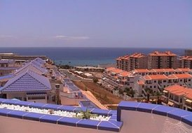 Apartment in Los Cristianos, Tenerife: The proximity of Playa Graciosa to the beach