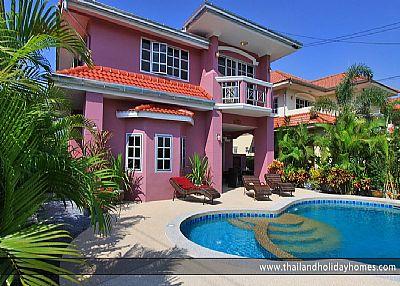 Villa in Thailand, Pattaya: Thailand Holiday Homes Villa with Private Swimming Pool, Pattaya, Jomt..