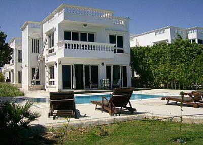Villa in Egypt, Sharm El Sheikh: view to the villa