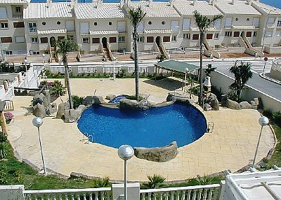 Apartment in dehesa de campoamor spain with shared pool for Jardines del mar campoamor