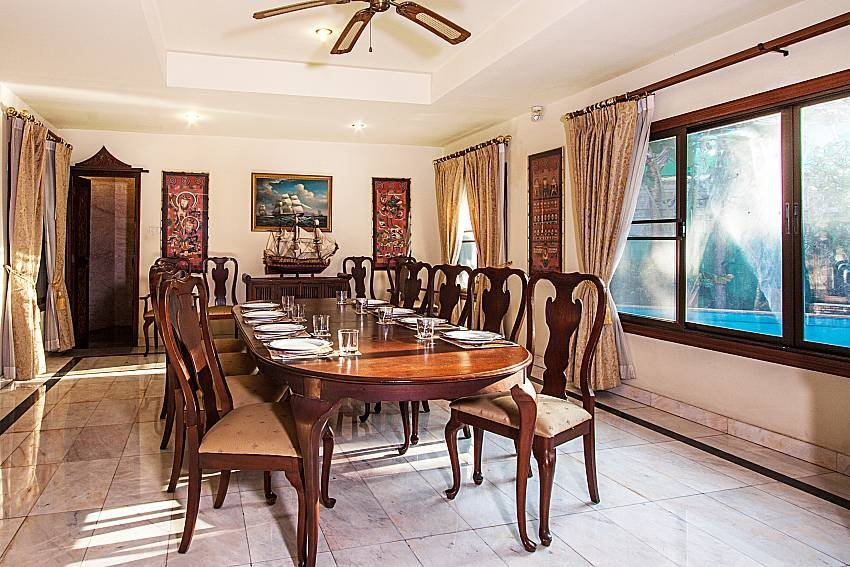 Owners abroad Baan Wat | 5 Bed Asian Style Villa with Private Pool in Naklua No