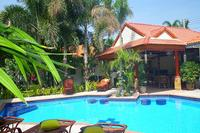 Villa in Thailand, PAK NAM PRAN: Veiw from villa to Bar / Dinning