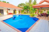 Villa in Thailand, PAK NAM PRAN: View on entering the villa