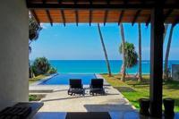 Villa in Sri Lanka, Ambalangoda: The view from the veranda