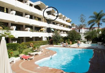 Apartment in Spain, Playa del Inglés: Our Apartment circled