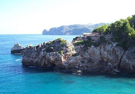 Villa in Sa Cala, Majorca: views from terrace