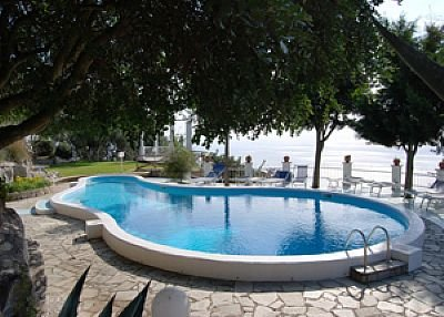 Villa in Italy, Pontone (Sorrento): swimming pool and sea view