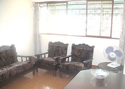 Apartment in India, Goa: Living room/seating area