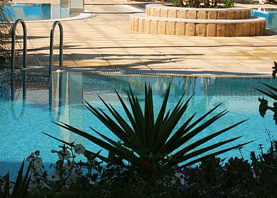 Apartment in Cyprus, Bogaz: one of the three pools