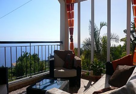 Villa in Girão, Madeira: view from veranda