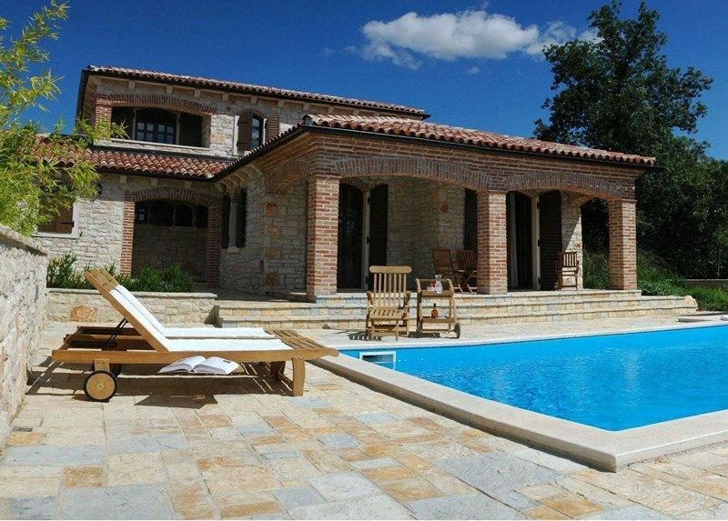 Villa in Croatia, Baderna - Mompaderno