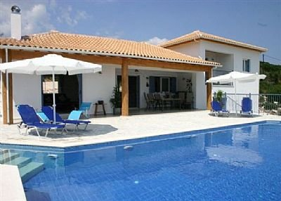 Villa in Greece, Lefkas Island: Pool