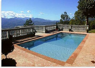 Villa in Italy, Coreglia Antelminelli: Private pool