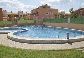 Apartment in Los Montesinos, Spain: pool area