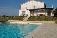 Farm_house in Italy, Penne: Swimming Pool and House