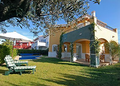 Villa in Spain, Mar Menor Golf Resort (Polaris World): Villa and Pool