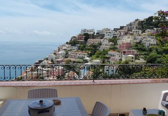 Apartment in Italy, Positano: 01 Sasà private terrace with Positano view copia