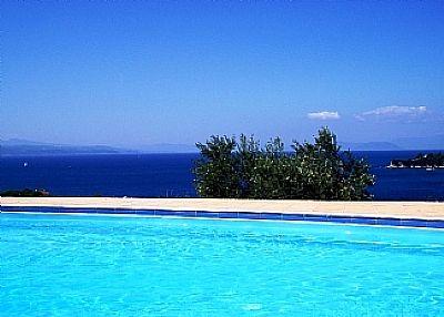 Villa in Greece, Skiathos: Pool Views