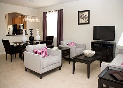 Villa in USA, Windsor Hills: Luxury Formal Living Room and Dining Room