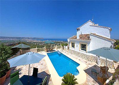 Villa in Spain, Javea: Panorama View