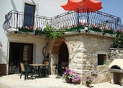 Studio apartment in Croatia, Motovun: Istrian Village House