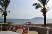 Apartment in Turkey, Calis Beach: Stunning seaview from Posiedon 3 main balcony