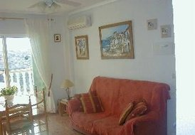 Apartment in La Zenia, Spain: Luxurious 3 bedroomed apartment with balcony.