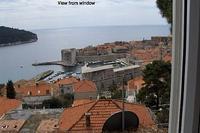 Studio_apartment in Croatia, Iznad starog grada: View from windows