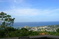 Villa in Jamaica, Ridge Estates: The beautiful view from the veranda!