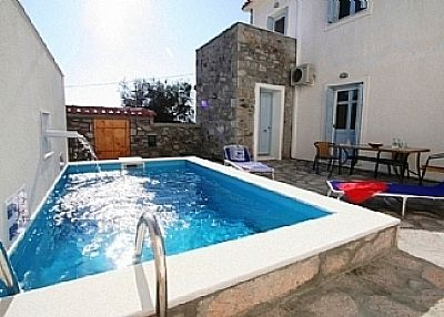 Villa in Greece, Lesvos: Plunge Pool
