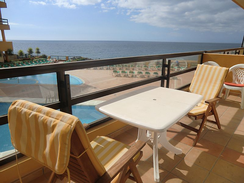 Apartment in Spain, Golf del Sur: Gorgeous sea views from the sunny balcony