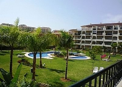 Apartment in Spain, Mijas: View over gardens