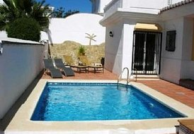 Torrox villa with private pool in Costa del Sol