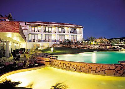 Villa in Portugal, Funchal-Lagos: Pool Night
