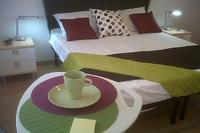 Apartment in Italy, Rome centre: king size bedroom