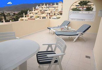 Apartment in Spain, Playa de las Americas: Lovely sunny balcony with sea views