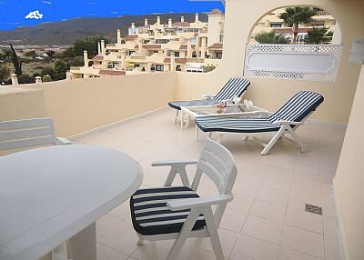 Apartment in Spain, Miraverde: Lovely sunny balcony with sea views