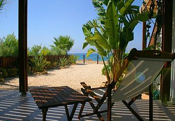 House in Cyprus, Latchi: Beach view from garden
