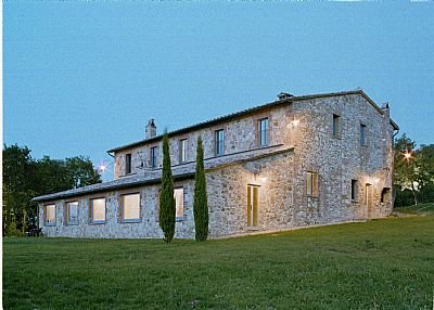 Country house in Italy, Montepulciano: view