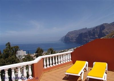 Apartment in Spain, Los Gigantes: Stunning views from Colonial Park