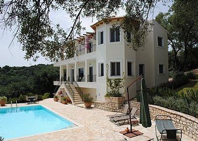 Villa in Greece, Avlaki: Villa Aurora