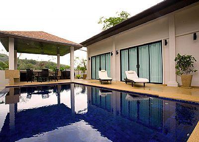 Villa in Thailand, Nai Harn: Loungeroom