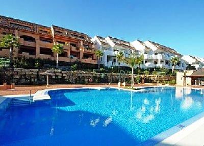 Apartment in Spain, Alcorrín: Pool area