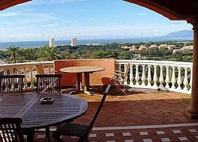 Villa in Spain, Las Chapas: Terrace and views