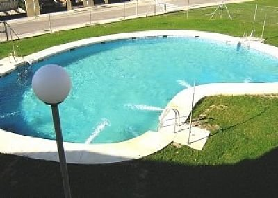 House in Spain, La Duquesa Golf & Country Club: The Main Pool just outside the rear patio