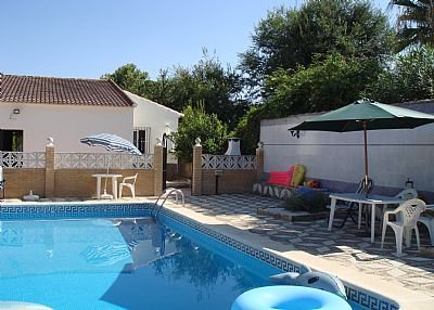 Villa in Spain, Puente Genil: large private pool