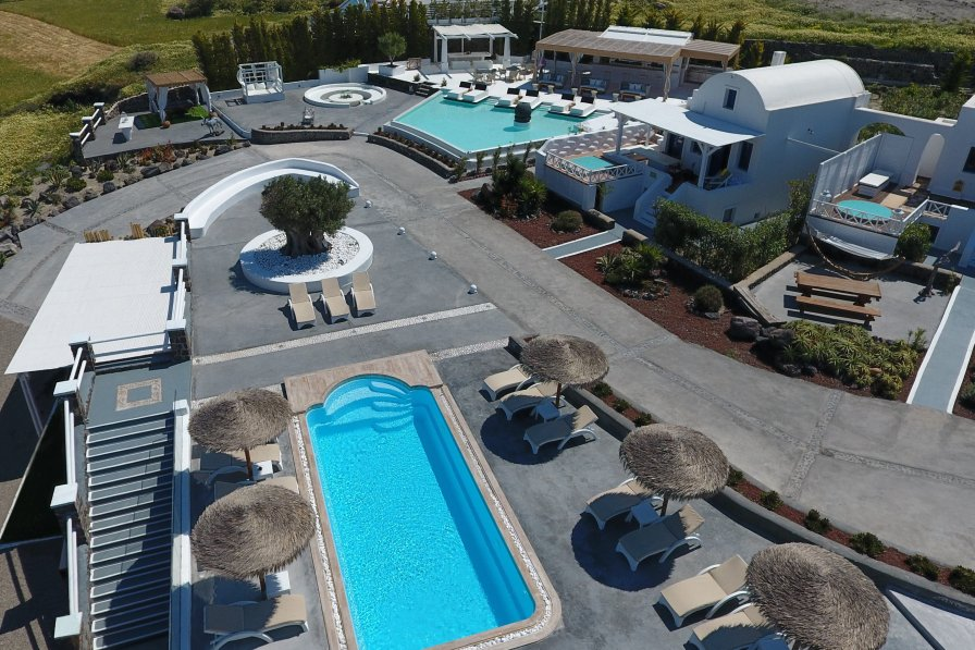 Owners abroad OIA SUNSET VILLAS- villa DIAMOND -Swimming Pool & Private Hot Spa
