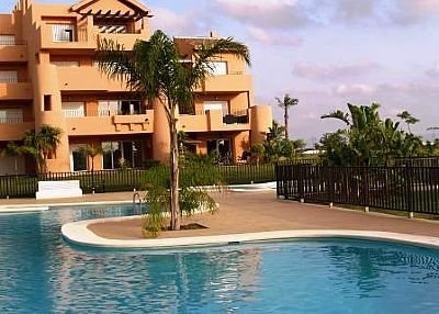 Apartment in Spain, Torre-Pacheco: Front of Property