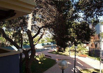 Apartment in Spain, Roda: View from Balcony