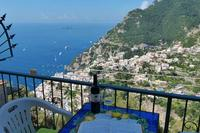 Apartment in Italy, Montepertuso: 01 Casa Sole balcony with Positano view